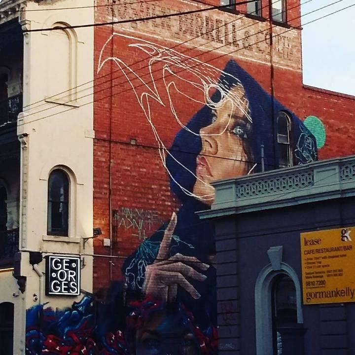 Hawthorn street art